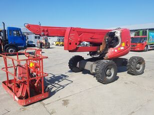 damaged HAULOTTE 16 SPX articulated boom lift