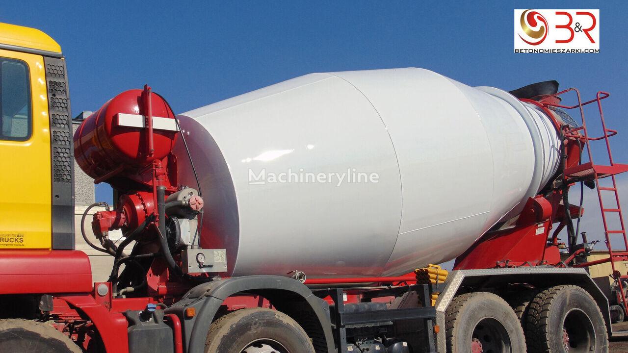 new MAN concrete mixer truck