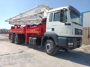 KLEINE 2008 MODEL 33.360 MAN TRUCKS 37 METER KLEİN CONCRETE PUMP  concrete pump