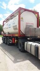 VAN HOOL ОРЕНДА / Охолодження -10 / Підігрів + 80  20ft tank container